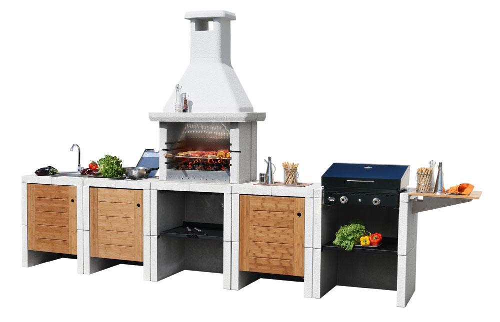 Летняя кухонная плита